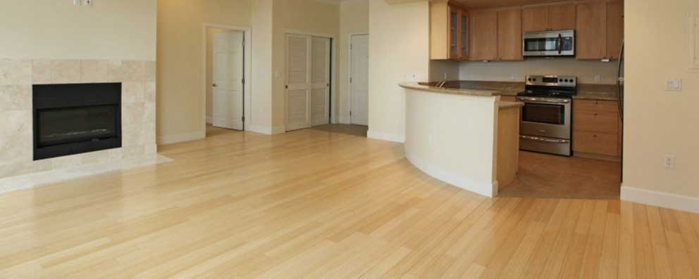 Apartment flooring